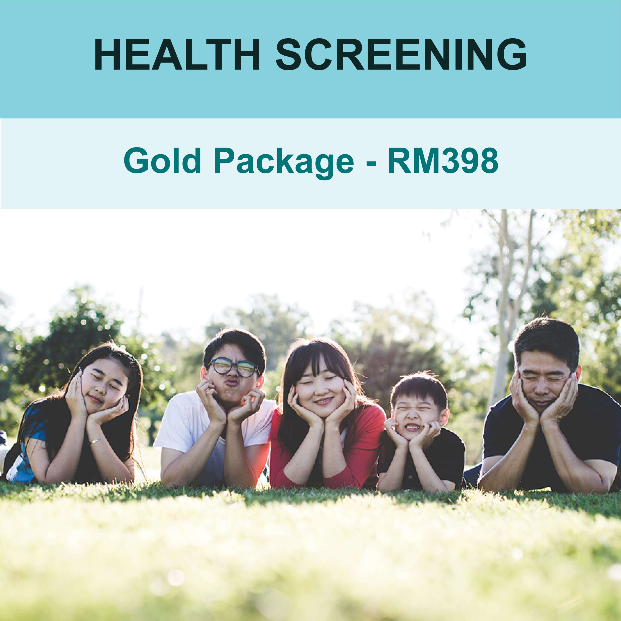 Health Screening Gold Package- AMS Care Clinic 1