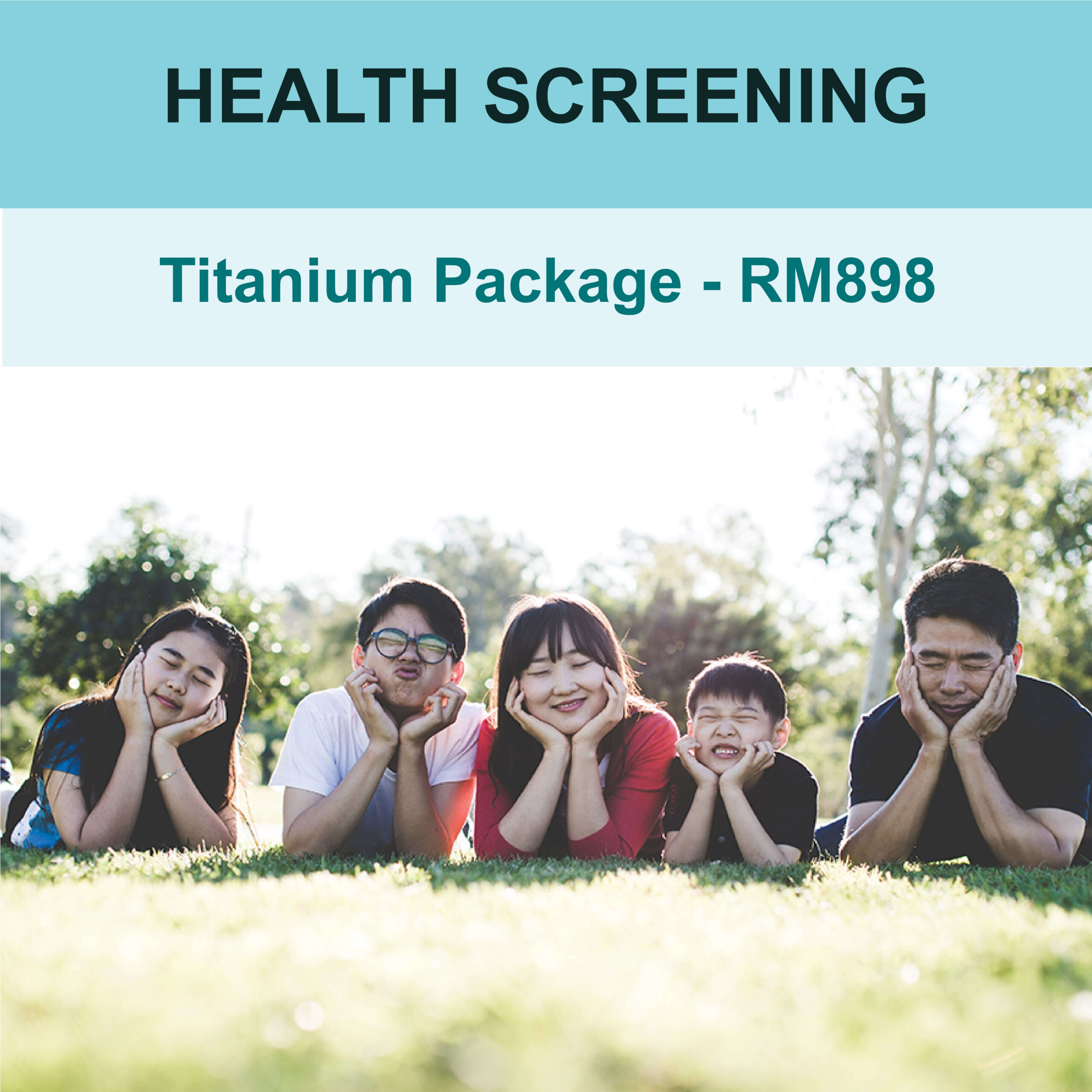 Health Screening Titanium Package- AMS Care Clinic